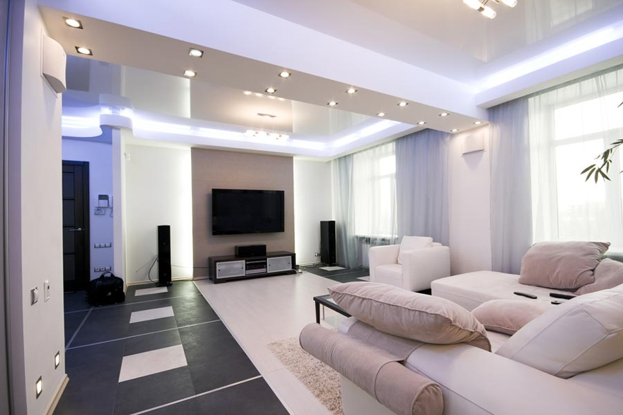 Conseils pratiques en clairage pour votre salon espace zen for Eclairage salle a manger salon