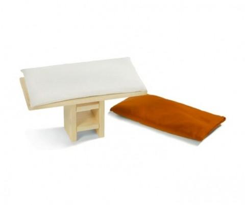 Accessoires pour la m ditation avec goyavi espace zen - Coussin capitonne pour banquette ...