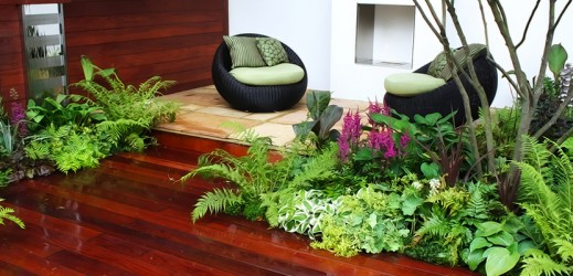 conception jardin