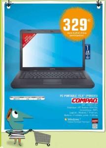 Ordinateur portable Compaq en promo
