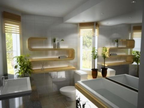 éclairage zen salle de bain