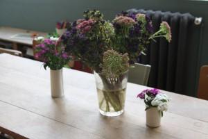 décoration florale salon