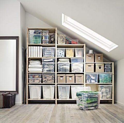 étagères de rangement Ikea pour petit espace