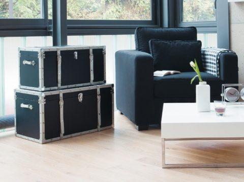 malle meuble de rangement