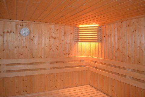 sauna domestique