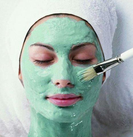 Masque d'épinard