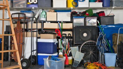 encombrement garage