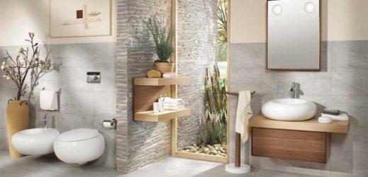 atmosphère-zen-25-idées-salle-bain-déco-zen-vasque-blanc-rond-meuble-bois-plantes
