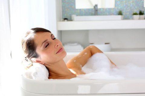 Les bains relaxants