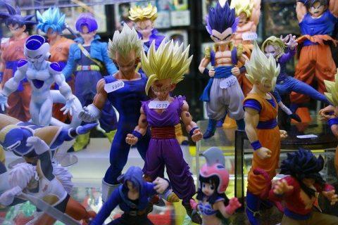 figurine manga animé